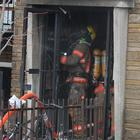 Intesection rue Champlain et Rolland, 10-12 Incendie