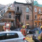 Intersection rue Jeanne-Mance et Mont-Royal, 10-13 Incendie