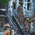 Intersection rue St-Urbain et Groll, 10-13 Incendie